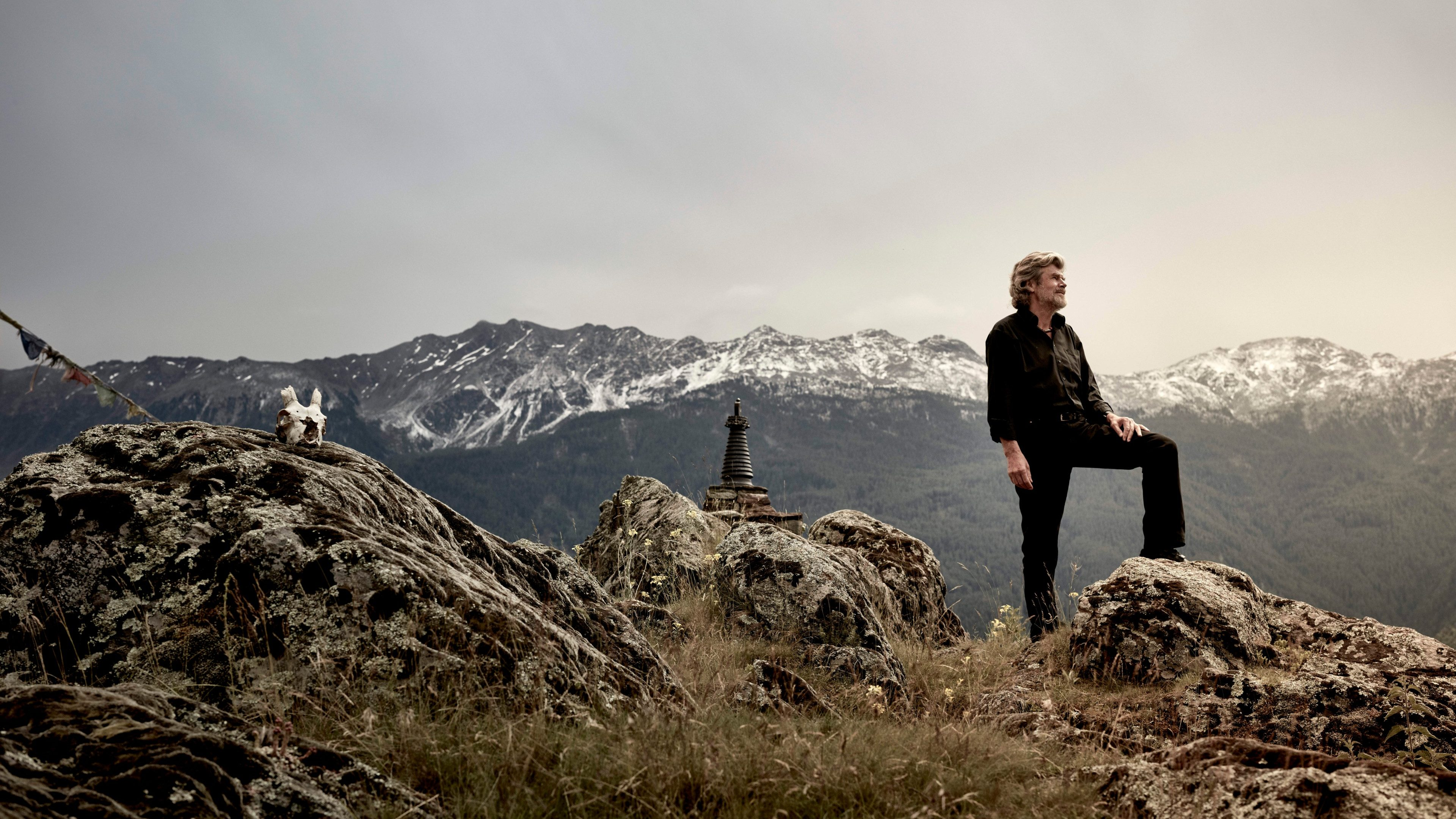 Download von www.picturedesk.com am 27.12.2016 (10:43). .*** EXKLUSIV *** Extrembergsteiger Reinhold Messner ; Location : Schloss Juval in Bozen - 20160622_PD23748 - Rechteinfo: Exklusives Bildmaterial - Achtung Sonderkonditionen (KEYSTONE/APA/Ehm Ian)